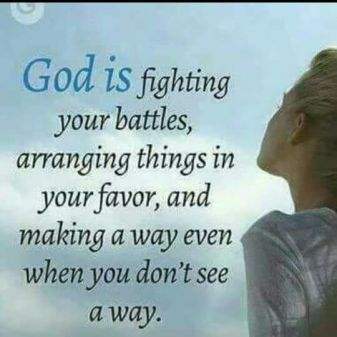 god is fighting